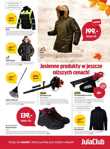 Gazetka promocyjna Jula, ważna od 06.10.2017 do 22.10.2017.