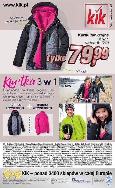 Gazetka promocyjna KIK, ważna od 11.10.2017 do 25.10.2017.