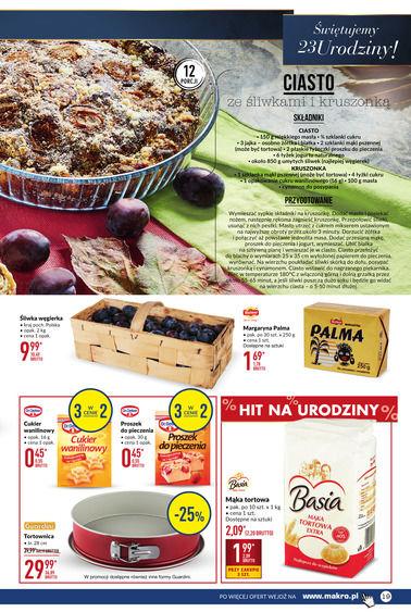 Gazetka promocyjna Makro Cash&Carry, ważna od 10.10.2017 do 23.10.2017.