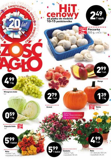 Gazetka promocyjna Intermarché, ważna od 12.10.2017 do 18.10.2017.