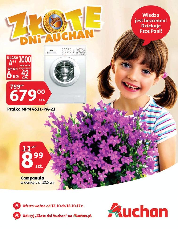 Gazetka sieci Auchan, ważna od 2017-10-12 do 2017-10-18, strona 1
