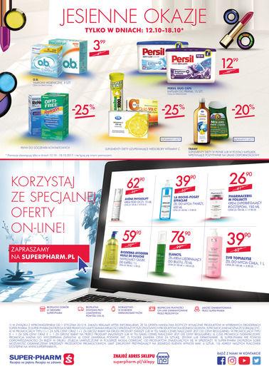 Gazetka promocyjna Super-Pharm, ważna od 12.10.2017 do 25.10.2017.