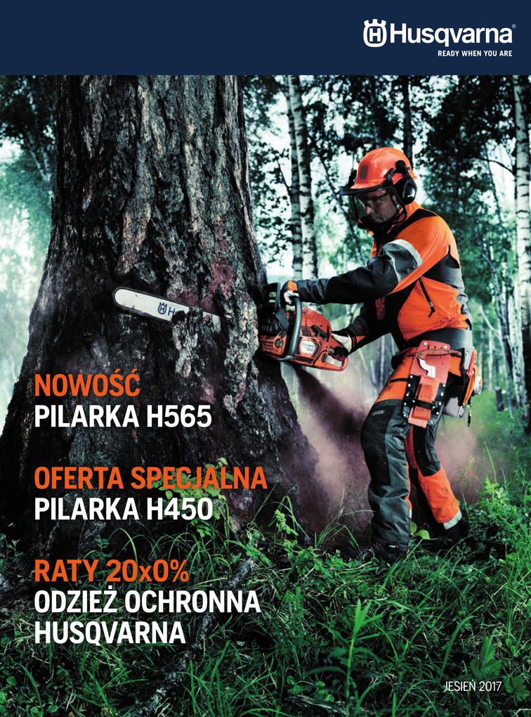 Gazetka sieci Husqvarna, ważna od 2017-10-12 do 2017-11-30, strona 1
