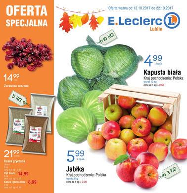 Gazetka promocyjna E.Leclerc, ważna od 13.10.2017 do 22.10.2017.
