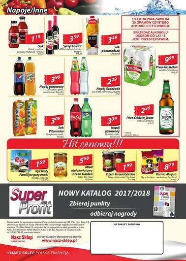 Gazetka promocyjna Nasz Sklep, ważna od 12.10.2017 do 22.10.2017.