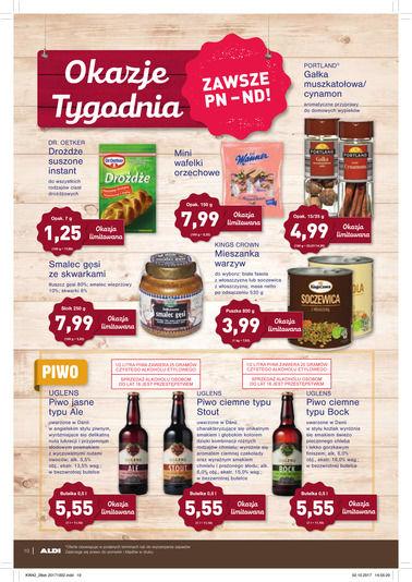 Gazetka promocyjna Aldi, ważna od 18.10.2017 do 24.10.2017.