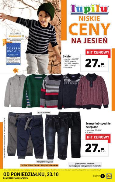 Gazetka promocyjna Lidl, ważna od 23.10.2017 do 29.10.2017.