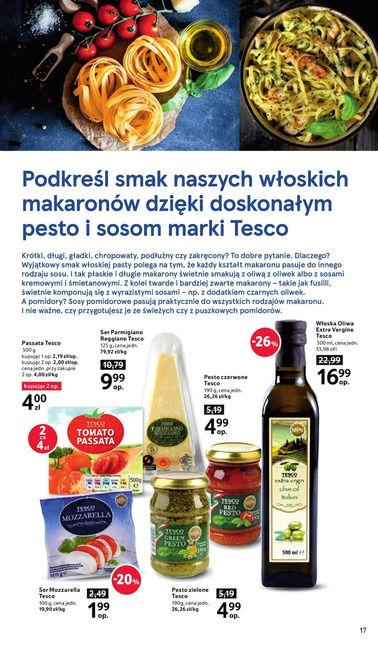 Gazetka promocyjna Tesco, ważna od 19.10.2017 do 25.10.2017.