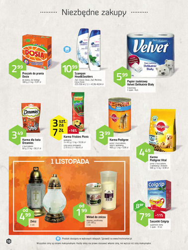 Gazetka promocyjna Freshmarket, ważna od 18.10.2017 do 30.10.2017.