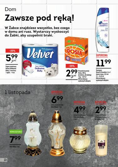 Gazetka promocyjna Żabka, ważna od 18.10.2017 do 30.10.2017.