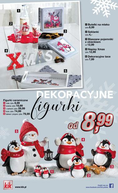 Gazetka promocyjna KIK, ważna od 08.11.2017 do 10.12.2017.