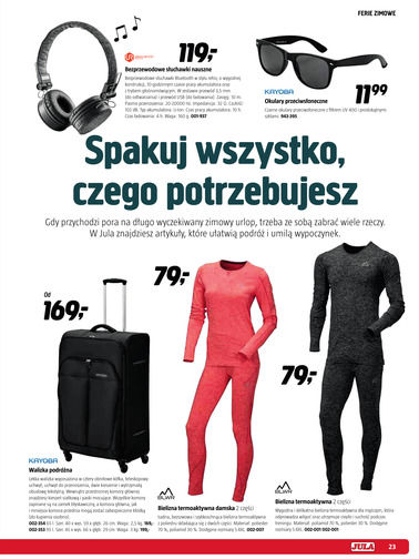 Gazetka promocyjna Jula, ważna od 01.11.2017 do 23.03.2018.