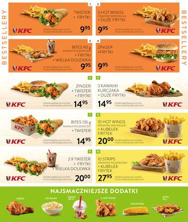 Gazetka promocyjna KFC, ważna od 03.11.2017 do 04.12.2017.