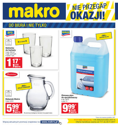 Gazetka promocyjna Makro Cash&Carry, ważna od 07.11.2017 do 20.11.2017.