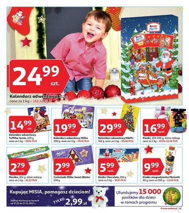 Gazetka promocyjna Auchan, ważna od 09.11.2017 do 03.12.2017.