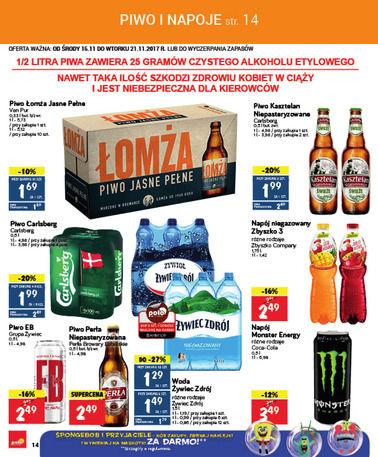 Gazetka promocyjna POLOmarket, ważna od 15.11.2017 do 21.11.2017.