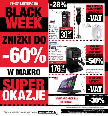 Gazetka promocyjna Makro Cash&Carry, ważna od 17.11.2017 do 27.11.2017.