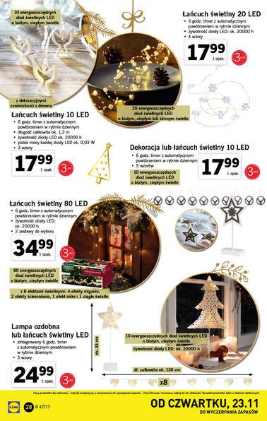 Gazetka promocyjna Lidl, ważna od 20.11.2017 do 26.11.2017.