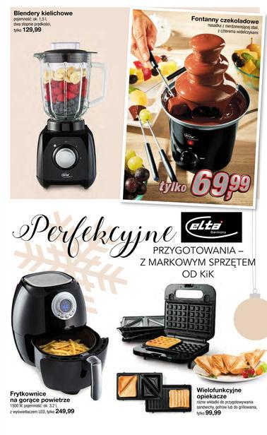 Gazetka promocyjna KIK, ważna od 22.11.2017 do 24.12.2017.