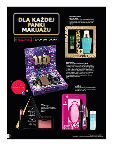 Gazetka promocyjna Sephora, ważna od 14.11.2017 do 24.12.2017.