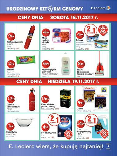 Gazetka promocyjna E.Leclerc, ważna od 13.11.2017 do 19.11.2017.