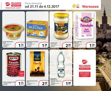 Gazetka promocyjna Selgros Cash&Carry, ważna od 21.11.2017 do 04.12.2017.