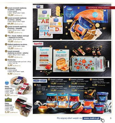 Gazetka promocyjna Makro Cash&Carry, ważna od 21.11.2017 do 24.12.2017.