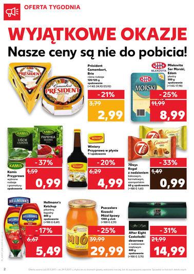 Gazetka promocyjna Kaufland, ważna od 23.11.2017 do 29.11.2017.