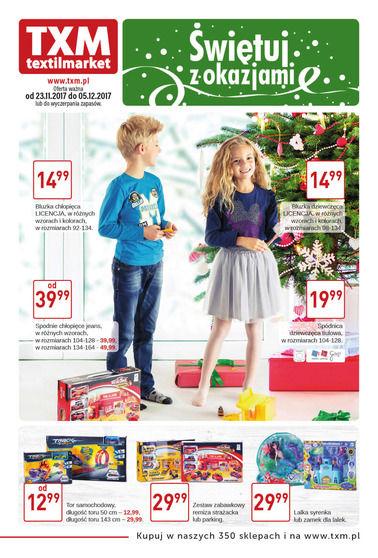 Gazetka promocyjna Textil Market, ważna od 23.11.2017 do 05.12.2017.