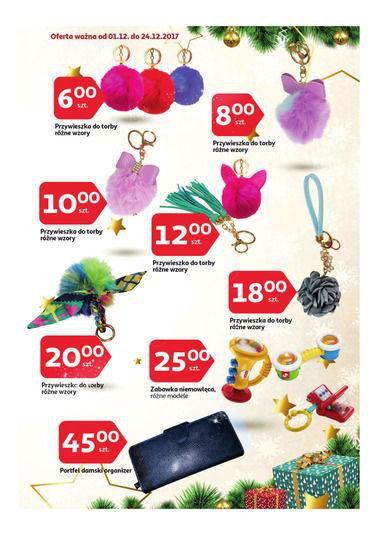Gazetka promocyjna Auchan, ważna od 01.12.2017 do 24.12.2017.