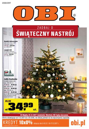 Gazetka promocyjna Obi, ważna od 07.12.2017 do 02.01.2018.
