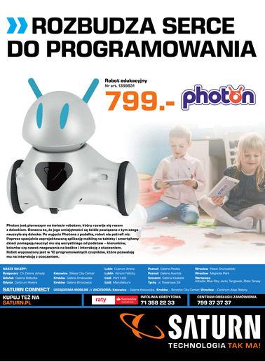 Gazetka promocyjna Saturn, ważna od 01.01.2018 do 31.01.2018.