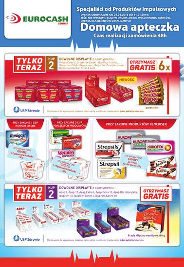 Gazetka promocyjna Eurocash Cash&Carry, ważna od 02.01.2018 do 31.01.2018.