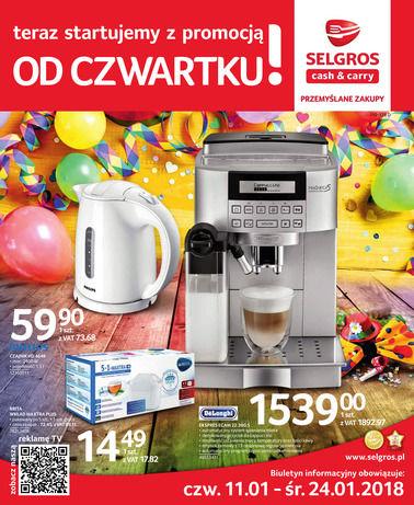 Gazetka promocyjna Selgros Cash&Carry, ważna od 11.01.2018 do 24.01.2018.