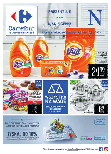 Gazetka promocyjna Carrefour, ważna od 10.01.2018 do 22.01.2018.