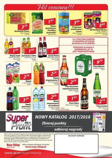 Gazetka promocyjna Nasz Sklep, ważna od 11.01.2018 do 21.01.2018.