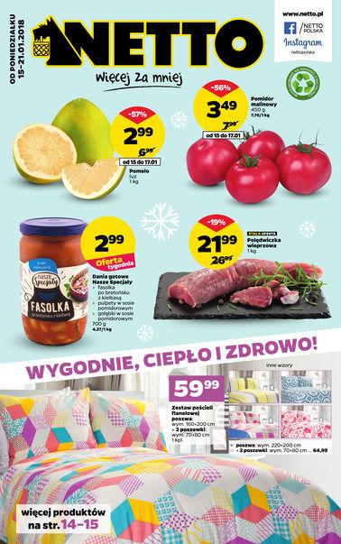 Gazetka promocyjna Netto, ważna od 15.01.2018 do 21.01.2018.