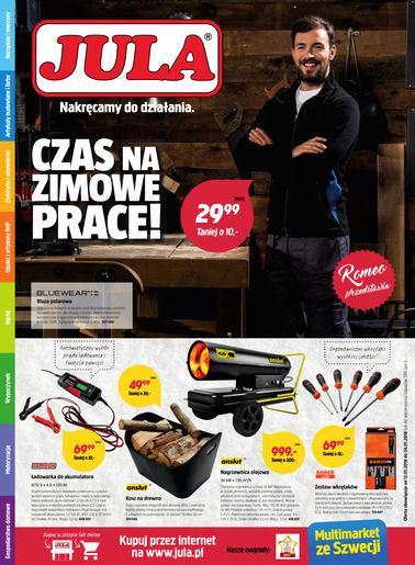 Gazetka promocyjna Jula, ważna od 12.01.2018 do 24.01.2018.