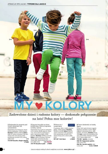 Gazetka promocyjna Jako-o, ważna od 25.01.2018 do 30.04.2018.
