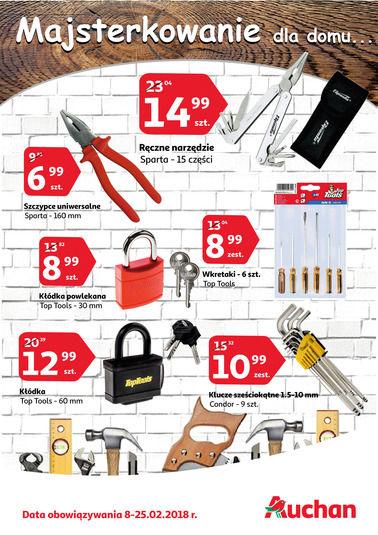 Gazetka promocyjna Auchan, ważna od 08.02.2018 do 25.02.2018.