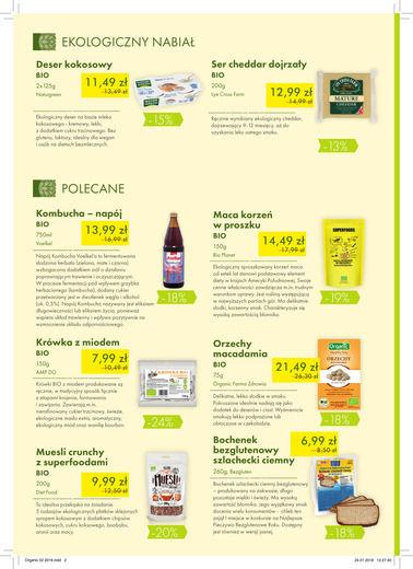 Gazetka promocyjna Organic Farma Zdrowia, ważna od 01.02.2018 do 28.02.2018.