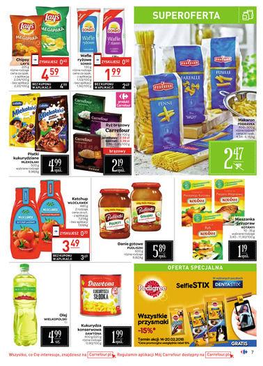 Gazetka promocyjna Carrefour, ważna od 14.02.2018 do 20.02.2018.