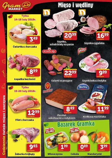 Gazetka promocyjna Gram Market, ważna od 14.02.2018 do 20.02.2018.