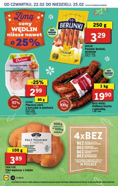 Gazetka promocyjna Lidl, ważna od 22.02.2018 do 25.02.2018.