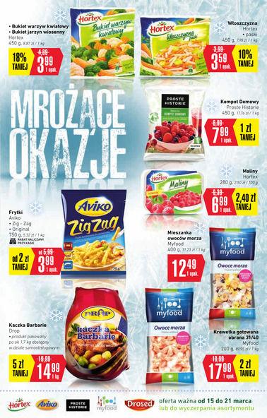 Gazetka promocyjna Intermarche Super, ważna od 15.03.2018 do 21.03.2018.