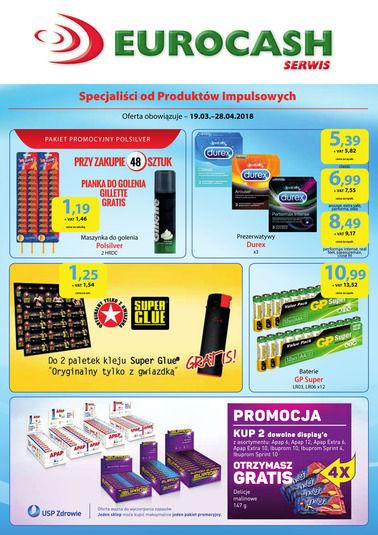 Gazetka promocyjna Eurocash Cash&Carry, ważna od 19.03.2018 do 28.04.2018.