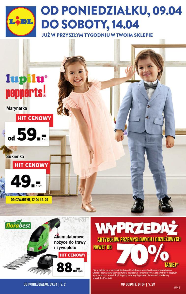 Gazetka Promocyjna Lidl Okazjumpl S1 32301