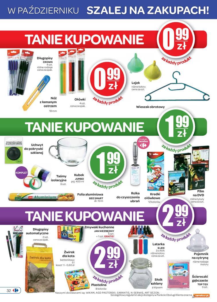 Gazetka sieci Carrefour, ważna od 2014-10-01 do 2014-10-06, strona 32