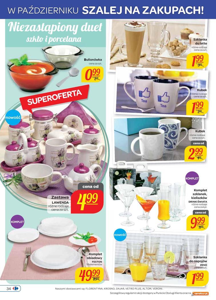 Gazetka sieci Carrefour, ważna od 2014-10-01 do 2014-10-06, strona 34