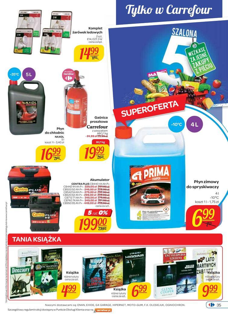 Gazetka sieci Carrefour, ważna od 2014-10-01 do 2014-10-06, strona 35